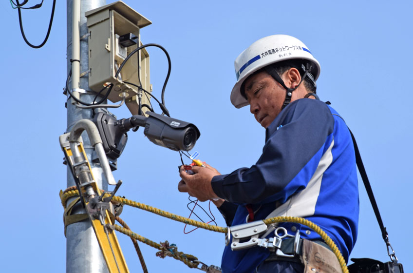 電気通信工事業の実績