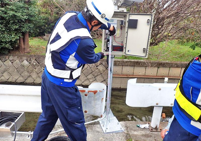 河川や大型施設などの自然災害時のリスク軽減