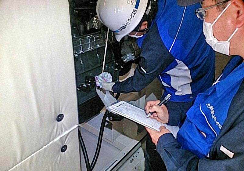 負荷運転・内部監察、総合点検、報告書作成までワンストップサービス